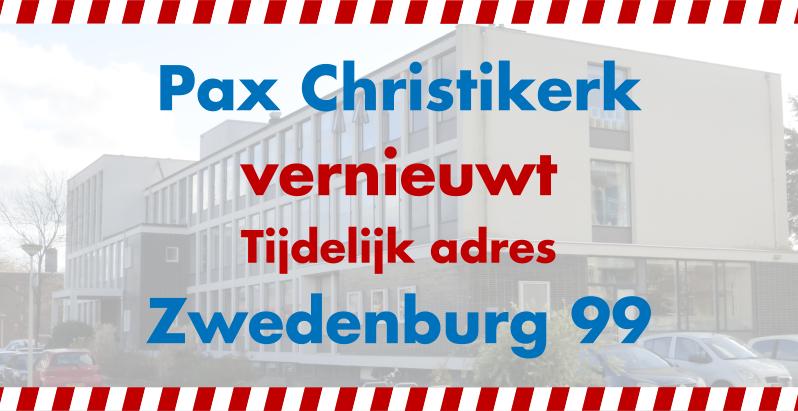 Pax Christikerk Vernieuwt